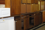 Cabinets at The Stock Pile